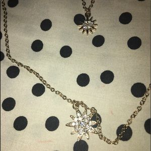Sun 2 in 1 Gold Necklace